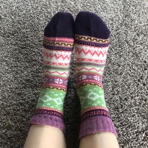 💜Cozy wool socks!💜
